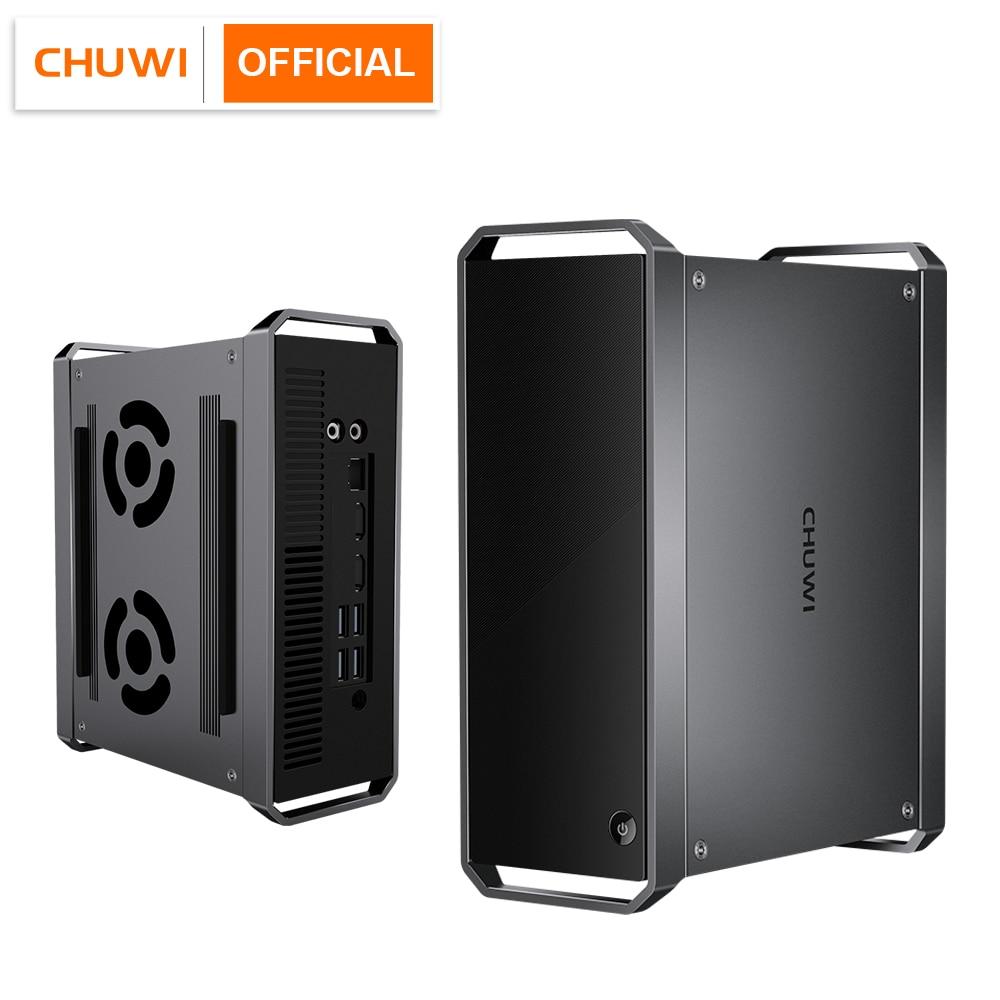 CHUWI CoreBox Mini PC, Intel Core i5 Windows 10 OS, 8GB RAM 256GB ROM, 2.5 inch HDD expansion, BT4.2, 2.4G/5G Wifi, 2*HD