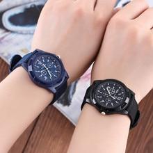 Military Watch Men Outdoor Sport Waterproof Luminous Canvas Wristwatch Student Friend Gift Chrono Ch