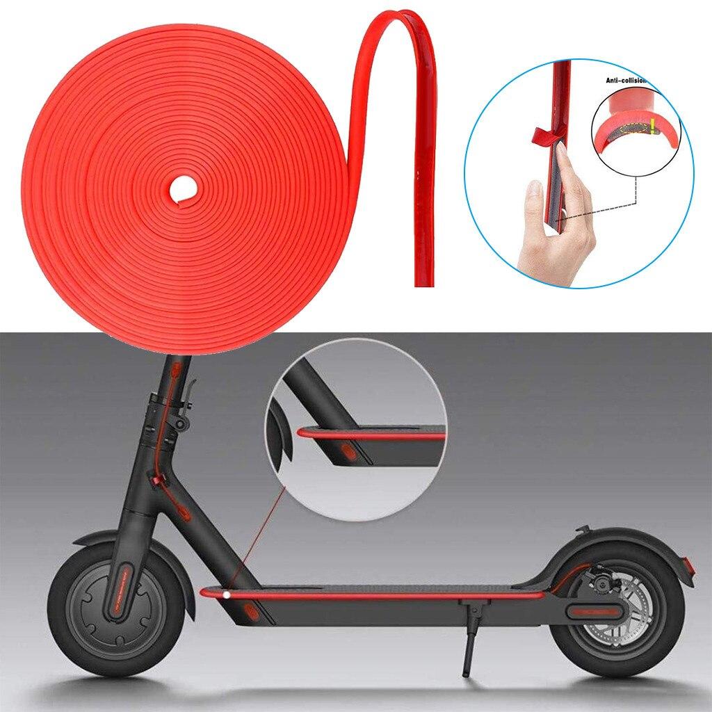 Tiras decorativas antideslizantes para frenos de patinete eléctrico, tiras para el cuerpo,...