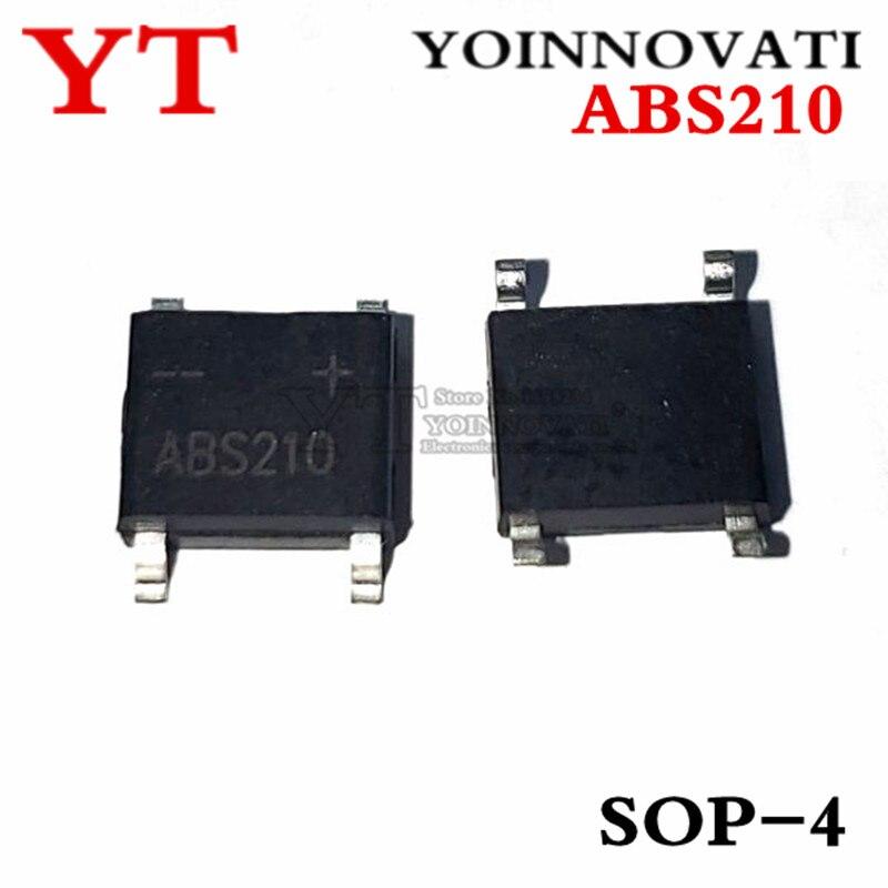 10 unids/lote ABS210 2A 1000V SOP-4 SOP4 AB-S nuevo original