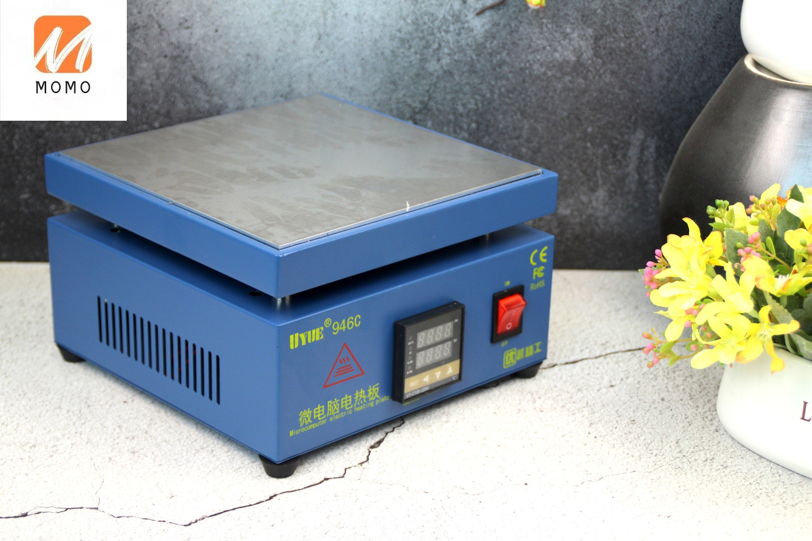 110/220V 600W 946C Electronic Hot Plate Preheat Preheating Station 200x200mm For BGA PCB SMD Heating Led Lamp Desoldering enlarge
