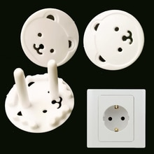 10pcs Baby Safety Child Electric Socket Outlet Plug Protection Security Two Phase Safe Lock Cover Ki