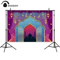 allenjoy photophone backgrounds arabic castle princess arch ramadan kareem lantern eid mubarak photography backdrop photobooth