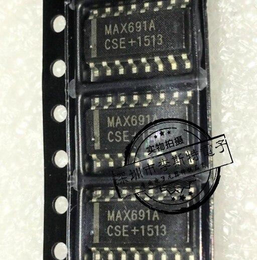 50 pces max691a max691acse smd sop 16 circuito de supervisao novo no original