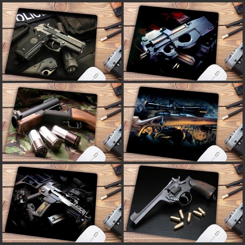 Xgz grande promoção jogo de alta velocidade acessórios arma imagem mouse pad computador jogador 180x220x2mm