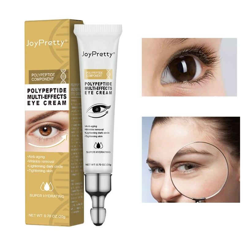Polypeptide MULTI-EFFECT Eye Cream Anti Dark Circle Removal Eye Bags Wrinkle Cream Lighten Fine Lines Moisturizing Eye Care