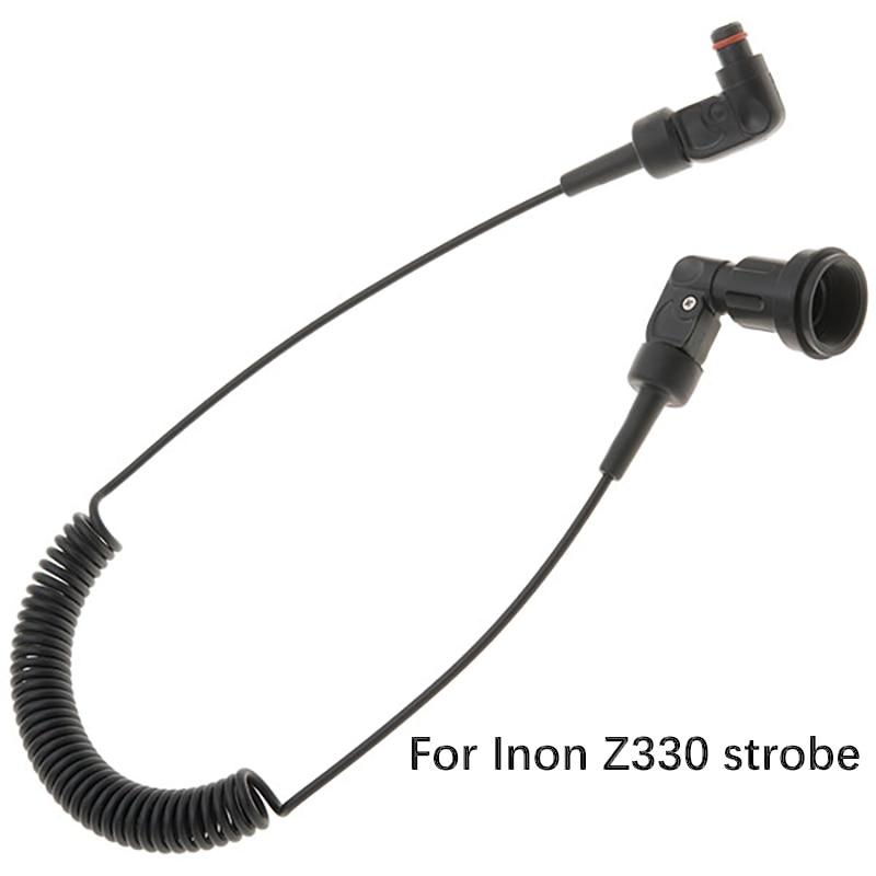 Inon الأصلي 613 متعددة النواة L-نوع وامض ضوء الألياف البصرية كابل ل Inon Z330 S-2000 D200 ستروب الغوص مصباح يدوي تكريس