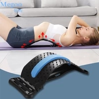 back massage muscle relax stretcher posture therapy corrector lumbar spine massager stretcher neck waist shoulder pain relief