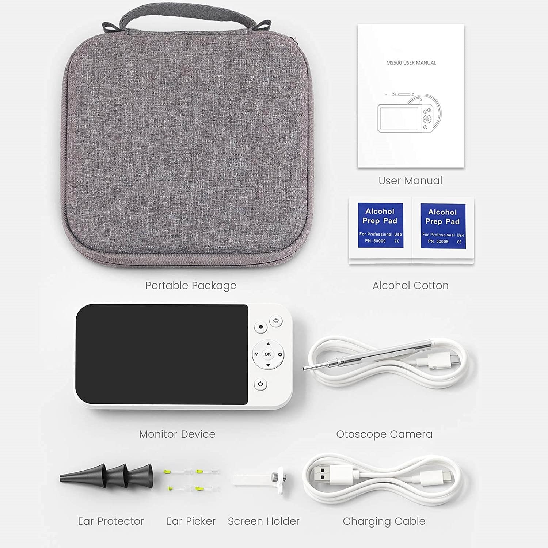 Digital Otoscope Ear Endoscope Camera with 5