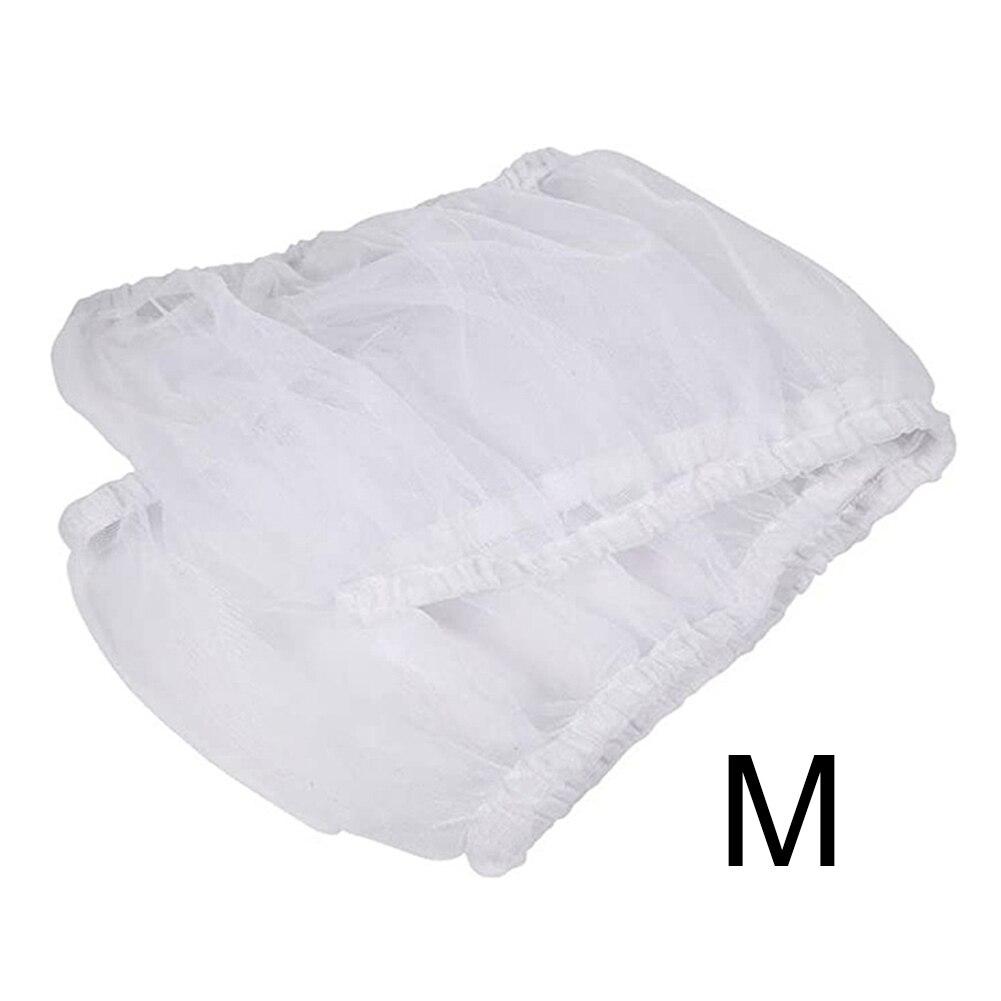 Falda de nailon, funda de nido blanco, red aireada a prueba de polvo, cubierta de jaula para pájaros, Protector de malla, captador de semillas, Protector fácil de limpiar para mascotas, loro