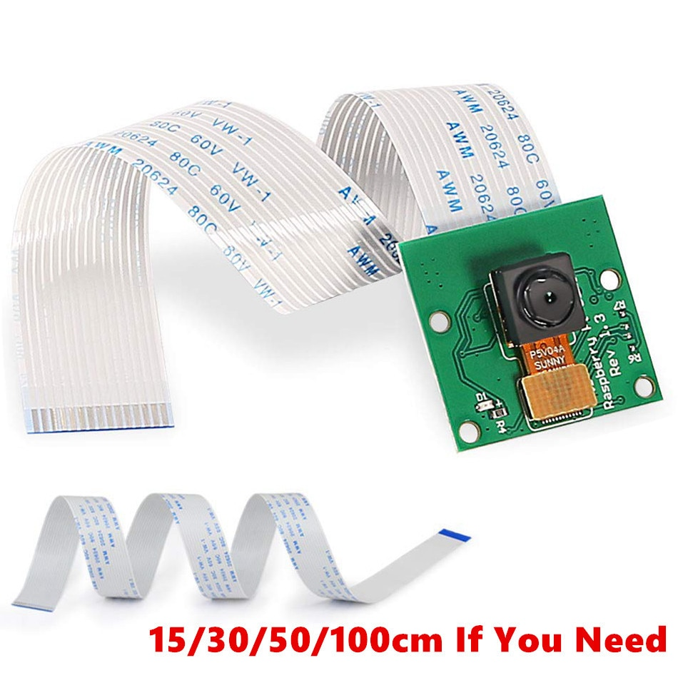 for raspberry pi camera module with automatic ir cut night vision camera 5mp 1080p hd webcam for raspberry pi 4b model 3 b For Raspberry Pi 4 Camera 1080p 720p Camera module for Raspberry pi 4B 5Mp Webcam for Raspberry Pi 3 Model B+ camera Cable