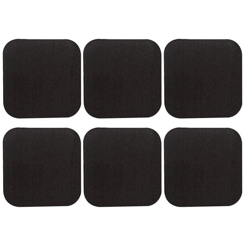 Treadmill Mat, Rubber Floor Mat, Fitness Equipment, Sound Insulation and Heat Insulation Mat, Gym Home Black