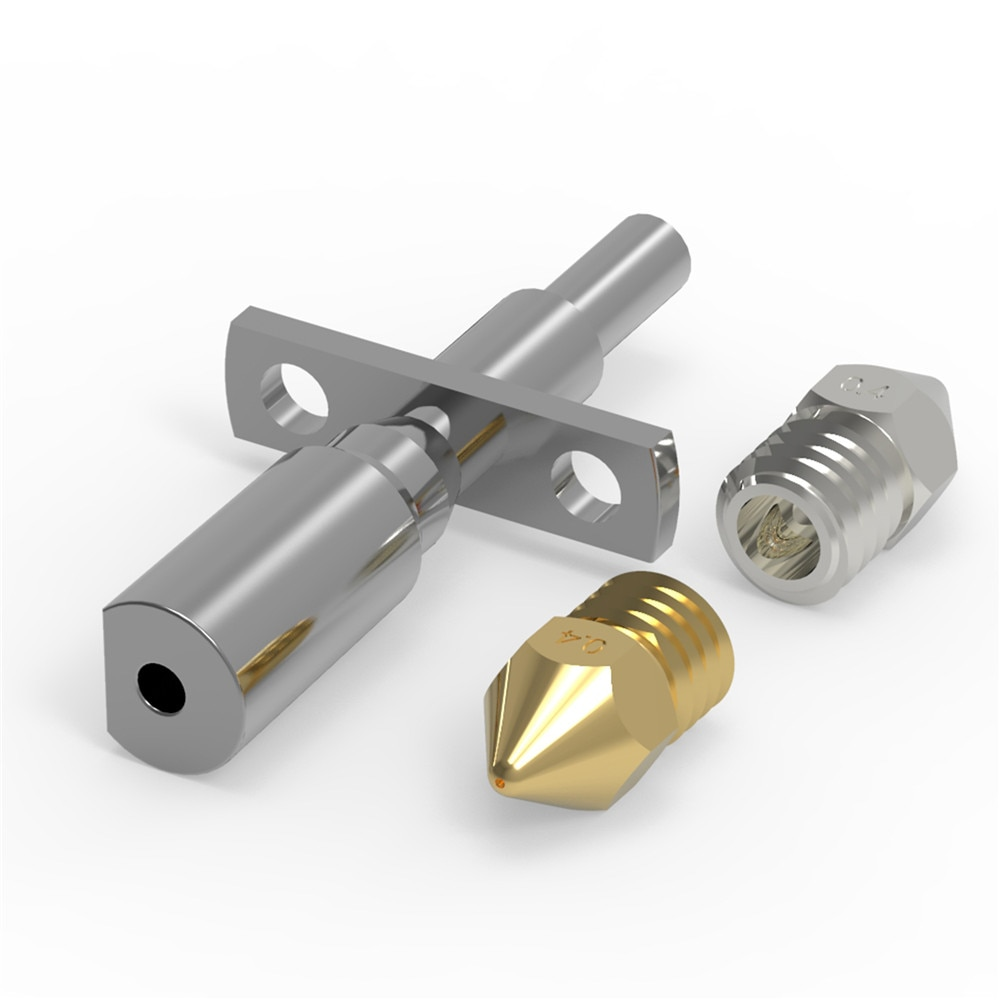 Boquilla extrusora Hotend, piezas de cabezal de impresión de bloques para impresora 3D Zortrax M200