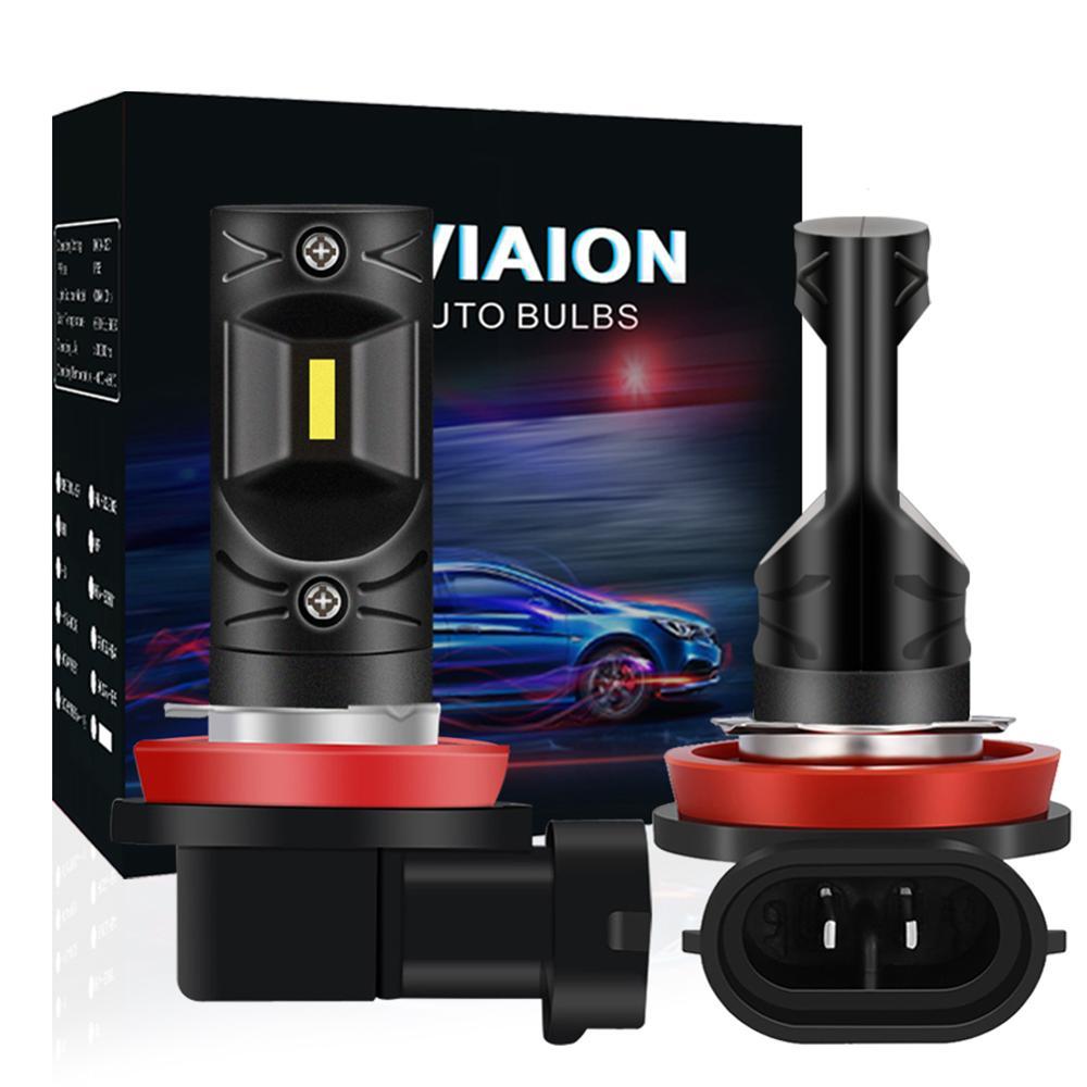 2x H8 H11 LED Nebel Lichter Birne Fehler Freie 12V Auto DRL Lampe Canbus weiß 1200LM Für Audi A3 a4 B6 B8 A6 C6 80 B5 B7 A5 Q5 Q7 TT 8P