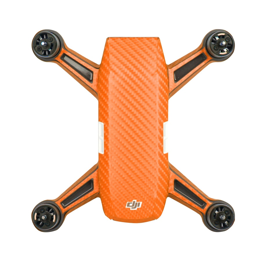 Waterproof PVC Carbon Graphic Spark Drone Stickers Camouflage Decals Drone Body Battery Skin for DJI