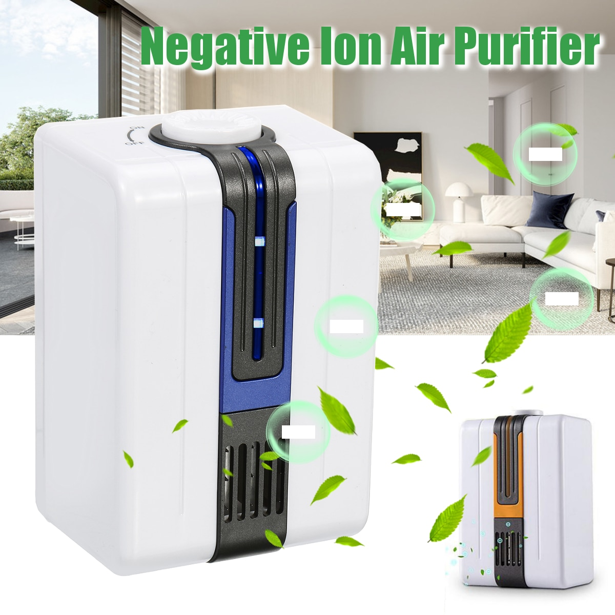 110V/220V Home Ionizer Purifiers Ozonator Air Cleaner Oxygen Purify Kill Bacteria Clear Peculiar Sme