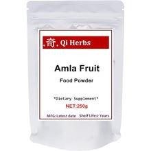 Organic Amla Powder (Amalaki), Natural Antioxidant and Flavonoids, Strongly Supports Immune Health, Energy