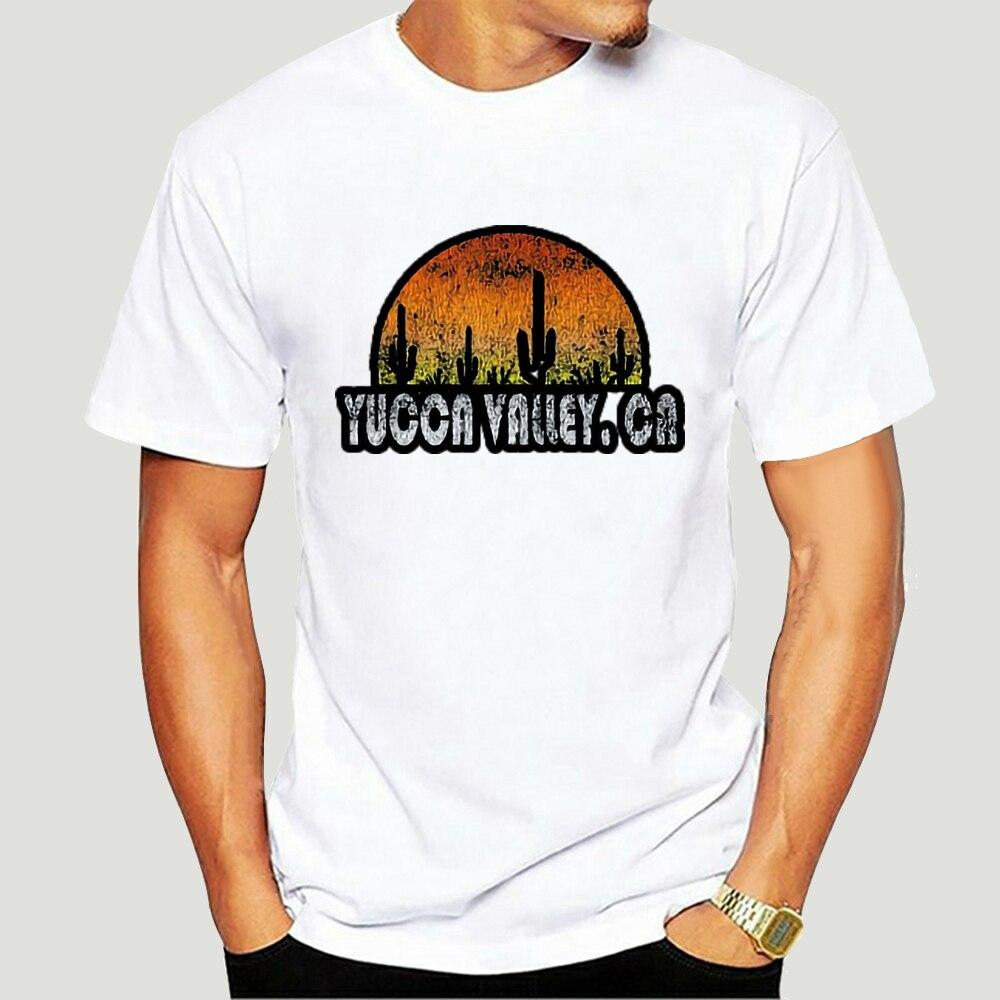 Camiseta Retro de Yucca Valley, camiseta Vintage de puesta de sol del...