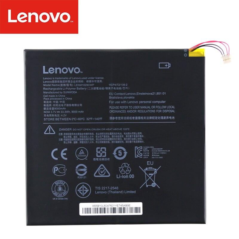 Original Laptop batterie Für Lenovo MIIX310 Serie Tablet 5B10L60476 1ICP4/72/138-2 LENM1029CWP 3,7 V 33.3Wh 9000mAh