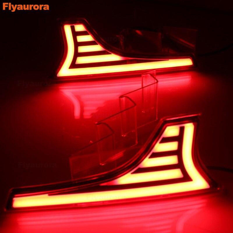 Luz intermitente para coche, 2 uds., luz trasera Luces de Freno Led para parachoques, reflector trasero para Suzuki Ertiga Ciaz Vitara s-cross SX4 Splash 2006-19