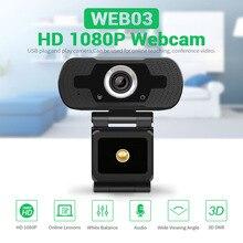 USB Webcam HD 1080P Web Kamera Geräuschunterdrückung Mikrofon USB Stecker Spielen Web Cam Für Live Broadcast Video Konferenz arbeit