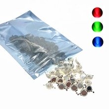 100 Uds. Real de vatios 1W 3W de alta potencia LED perlas SMD 110-120LM LED Chip para DIY proyector Downlight bombilla 004