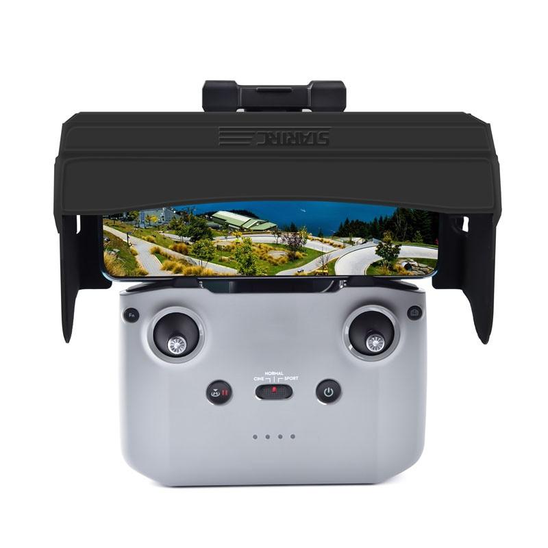 Foldable Phone Tablet Sun Shade for DJI Mavic Air 2/DJI Mavic Mini 2 Drone Controller Sun Hood Sunshade Monitor Cover Accessries enlarge