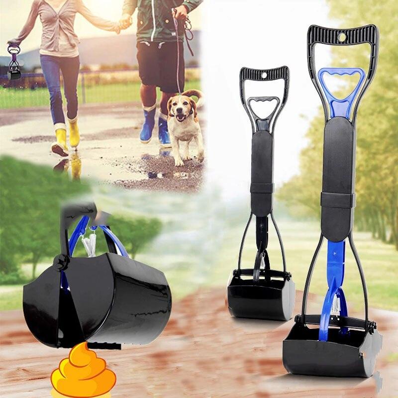Recogedor de mascotas para perros y gatos, utensilio para recoger excrementos, limpiador...