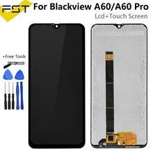 6.1 para blackview a60/a60 pro display lcd + touch screen digitador peças de reparo para a60/touch screen sensor de vidro lcd a60 pro, ferramentas
