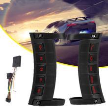 10 SCHLÜSSEL Universal Leucht Drahtlose Lenkung Multi-funktion Stereo DVD GPS Navigation Auto Lenkrad Fernbedienung Tasten