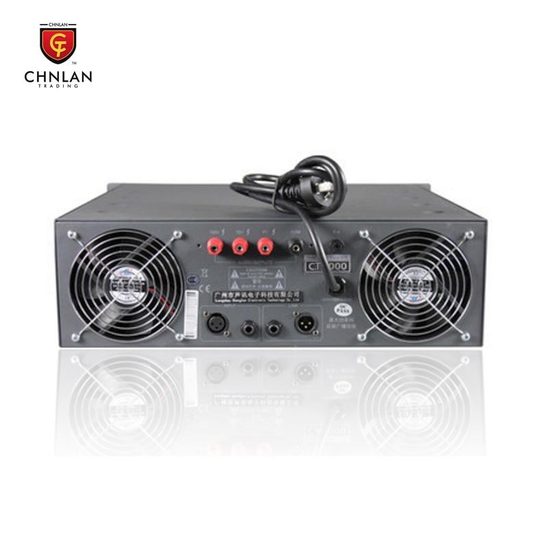 شهادة CE نظام PA pa مكبر للصوت الصوت الصوت مكبر كهربائي 1000 واط 100 فولت