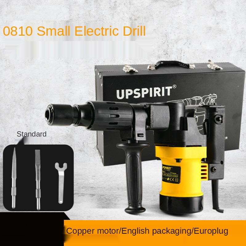 900W 220V Electric Hammer Industrial Grade High Power Impact Drill  Crushing Concrete Multifunctional Electric Pick Power Tools