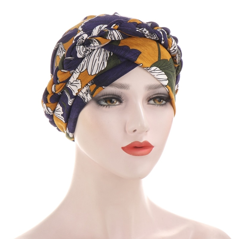 2020 Cotton print muslim turban scarf for women islamic inner hijab caps Arab wrap head scarves femme musulman turbante 2020 new muslim women stretch rippled jersey scarf hijab islamic soild cotton headscarf arab wrap head scarves hijab femme