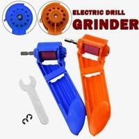 corundum grinding wheel drill bit set sharpener titanium drill portable polishing drill bit powered tool accessories hand tools
