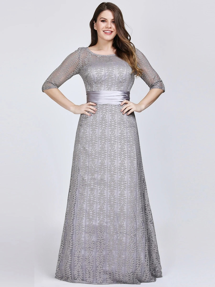 Round Neck Plus Size Mother Of The Wholesale Bride Dresses