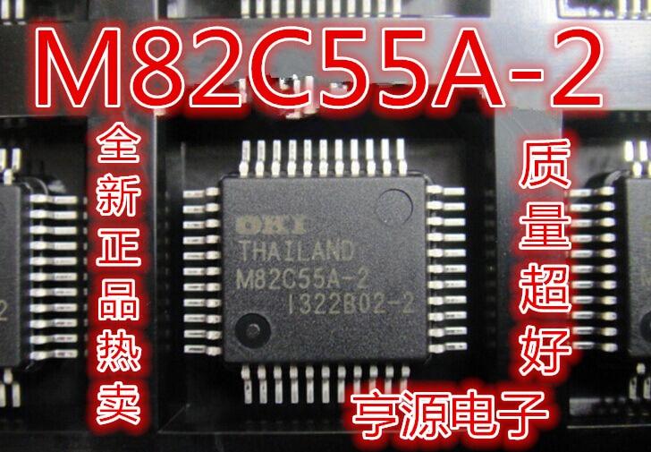 5 peças M82C55A-2 MSM82C55A-2 QFP