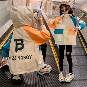 Girls Coat 2020 New Spring Children's Clothing Korean Casual Jacket Girl Fashionable Children Tops Spring Models