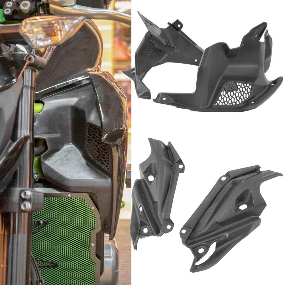 غطاء جانبي داخلي غير مطلي لهواء الدراجات النارية غطاء لوحة هدية متوافق مع KAWASAKI Z900 ZR900 2017 2018 2019 Z 900 ملحقات