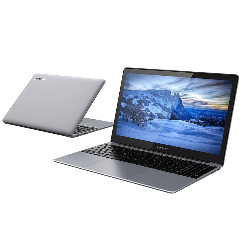 IPASON Laptop P1 15.6-inch IPS Convenient Notebook Computer Business Office Student Quad-Core J4125 Portable Internet Ultrabook 4