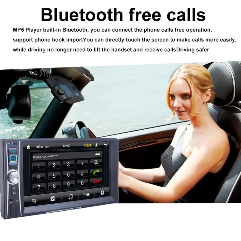 6.6 Inch High Definition Auto Radio MP5 Speler Touch Screen Telefoon Link Smart Telefoon Stereo Radio