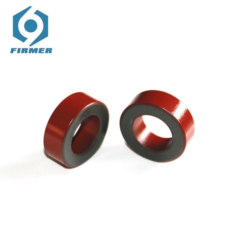 Carbonyl toroidalne rdzenie ferrytowe 20 sztuk/T150-2 T157-2 pierścień ferrytowy żywica epoksydowa czerwony szary do cewki magnetycznej