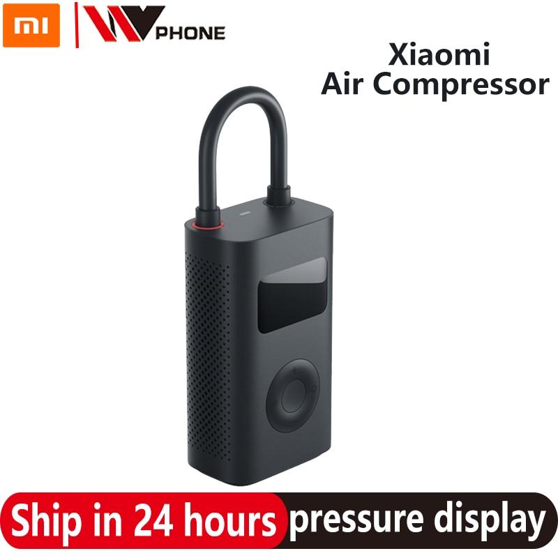 Xiaomi Mijia, bomba eléctrica portátil, compresor de aire, Sensor Digital inteligente de neumáticos, Mi tesoro inflable para motocicleta, coche, Fútbol