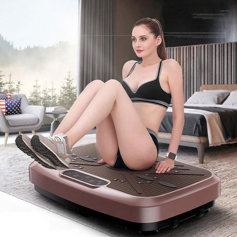 كسول البسيطة آلة شفط الدهون مُدلك بالاهتزاز ماكينة تشكيل الهياكل ضئيلة أجهزة التمارين الرياضية