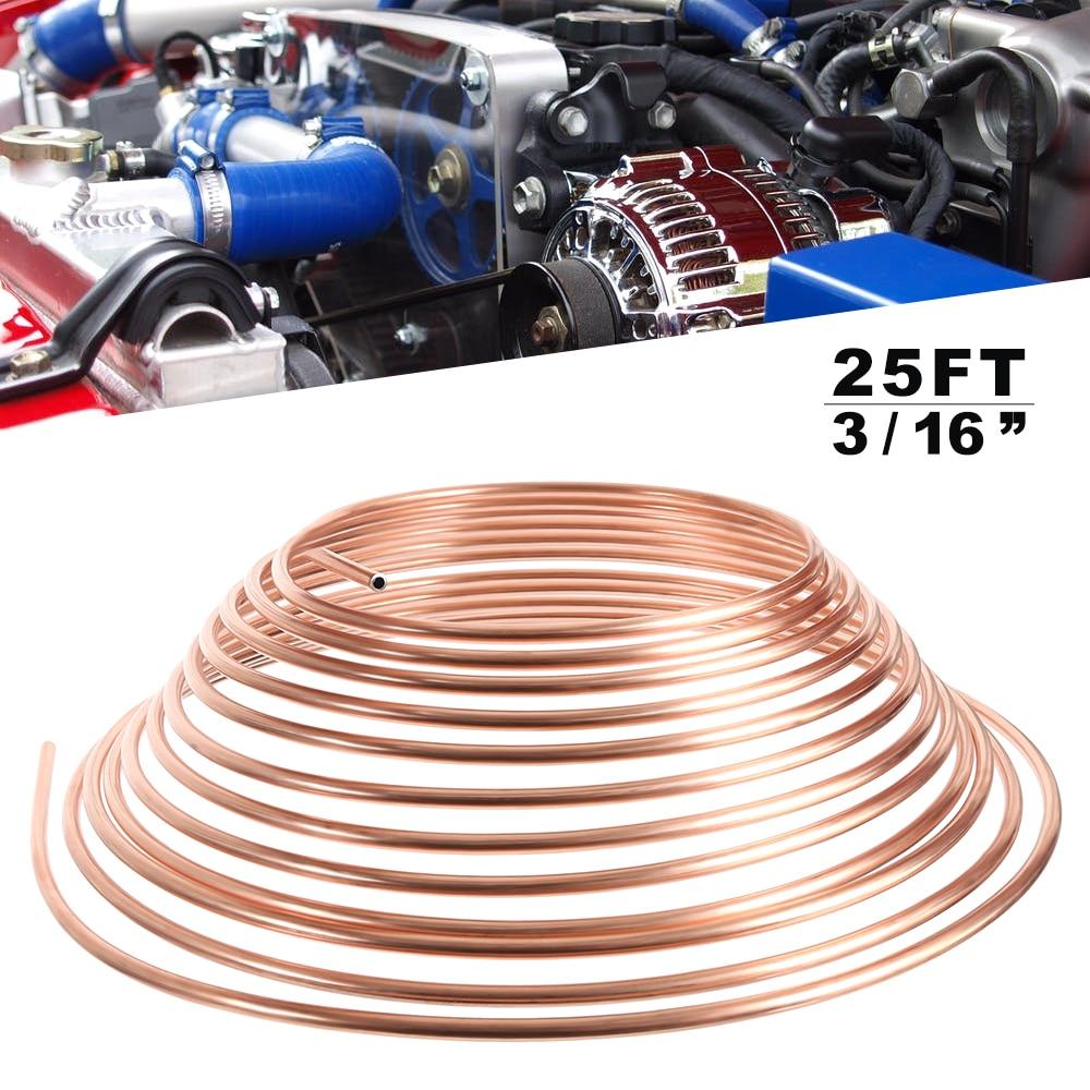 Automobile Copper Brake Line Blasting Strength High Vibration Fatigue Limit High Professional Auto Parts