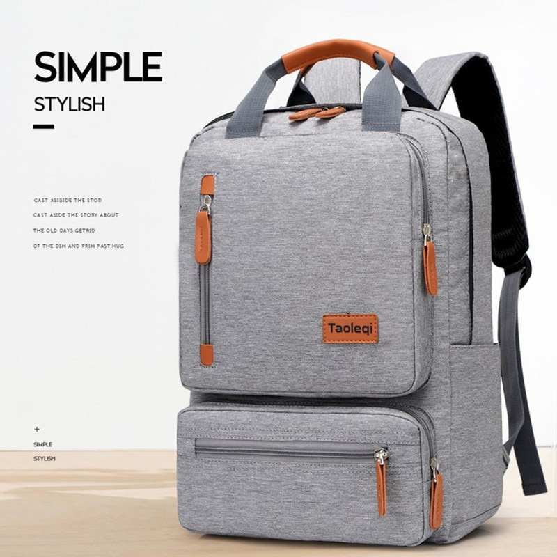 Casual Business Men Laptop Backpacks Waterproof Oxford Male Computer Bags Anti-theft Student Bag Mochila Travel School Backpack