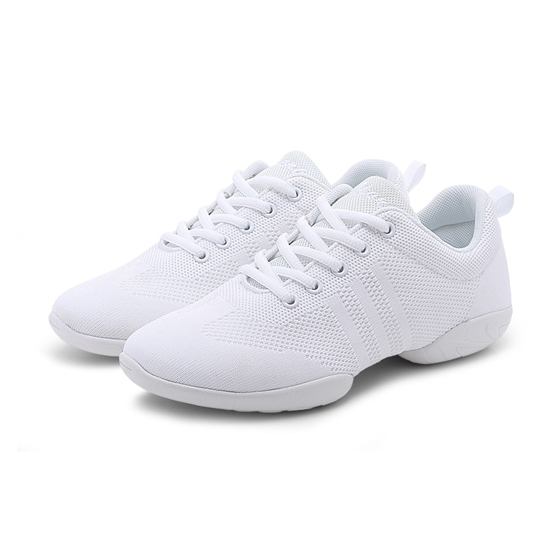 Competitive Aerobics Sports Shoes Woman Soft Bottom Cheerleading Sneakers Shoes Training Square Danc