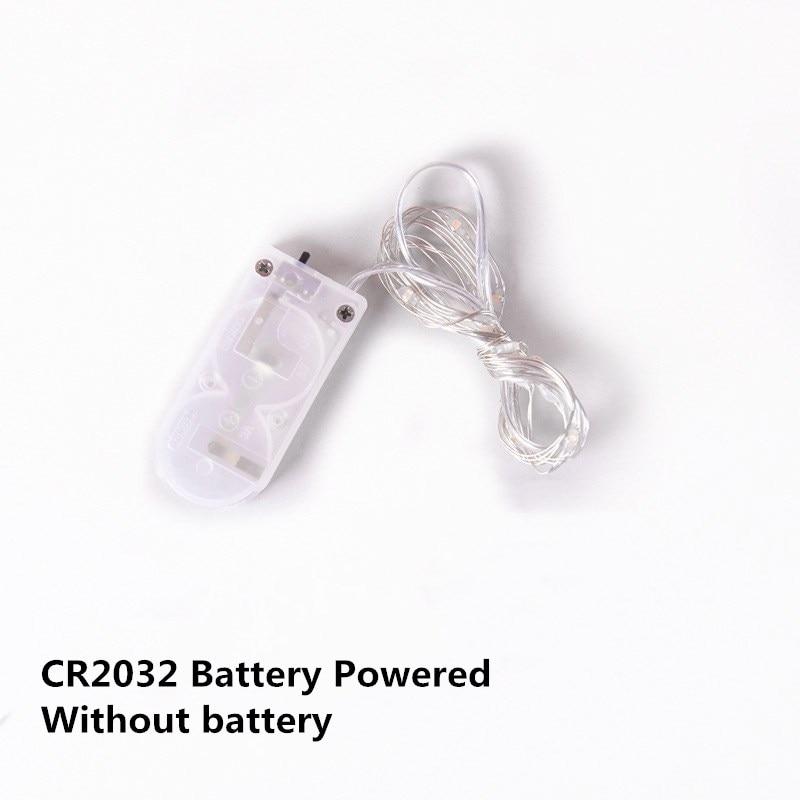 Decor de Crăciun USB ghirlandă alimentată cu baterie 1 ~ 10m - Luminări festive - Fotografie 5