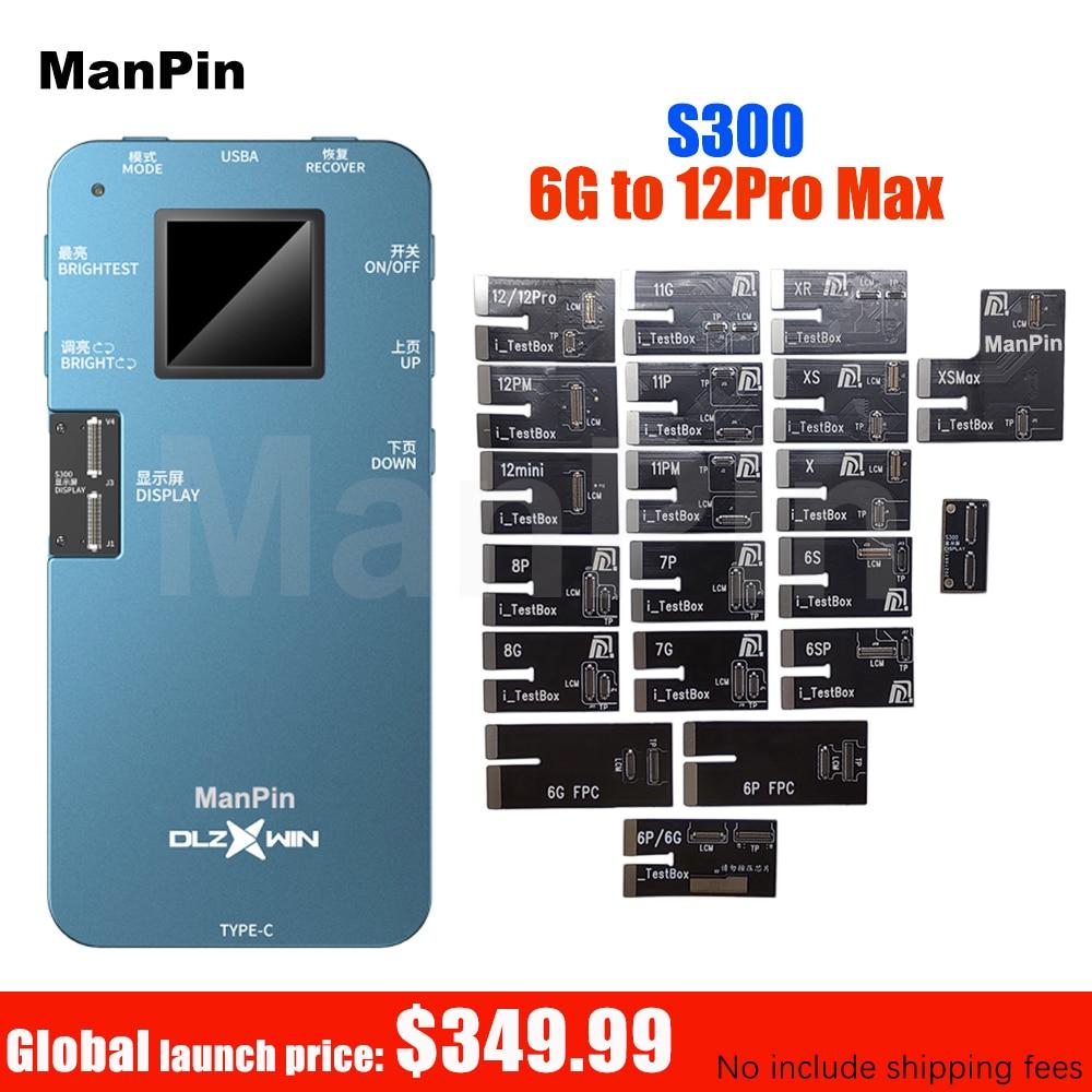 Promo DL S300 Screen Tester Box For iPhone 12 Pro MAX Mini 11Pro XS XR 8 7 6S 6 Plus Ambient Light Sensor True Tone 3D Touch Testing