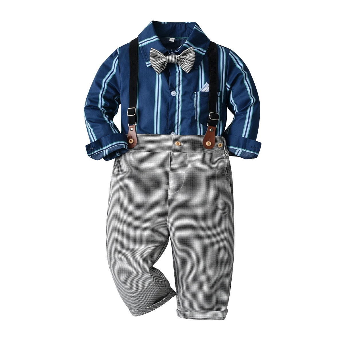 2021 conjuntos de natal meninos cavalheiro roupas outono criancas ternos formais