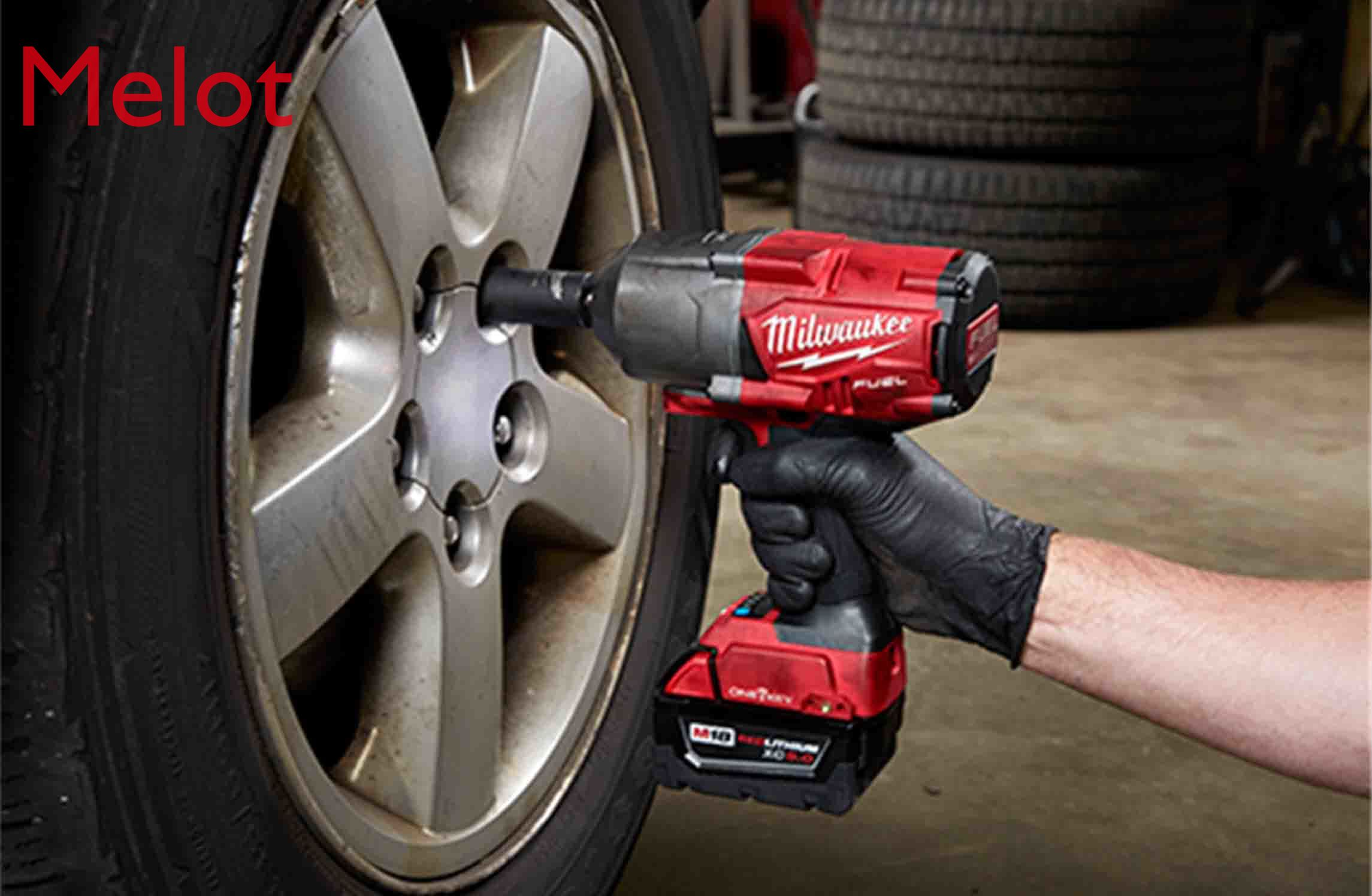 American Mivoch M18 Imported Second-hand 2863 Brushless Rechargeable Lithium Battery Bluetooth Impact Electric Gun Wrench enlarge